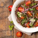 Lentils Salad With Tomato