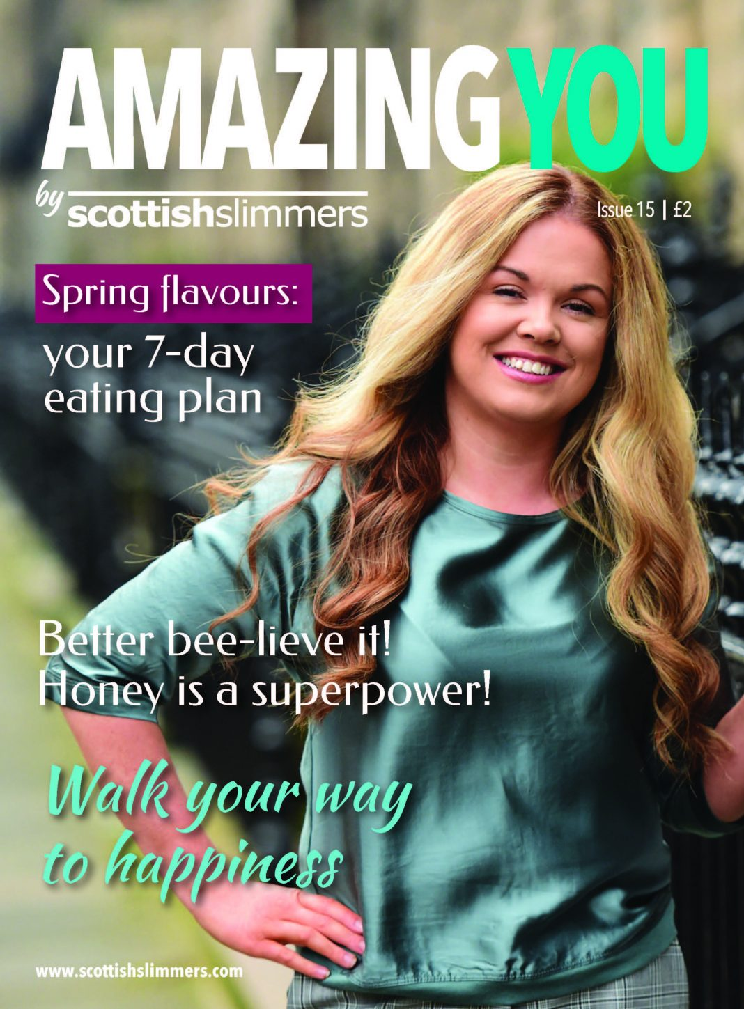 Amazing You Issue 15 Front Cover