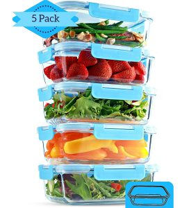 Meal Prep Containers - Glass